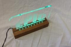 Cat 8.1 LED acrilyc