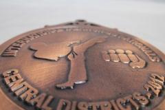 Cat 7.1 cast medal