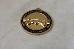 Cat 7.3 Cast medal