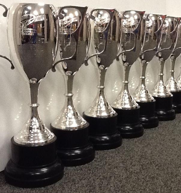 Silver cups square